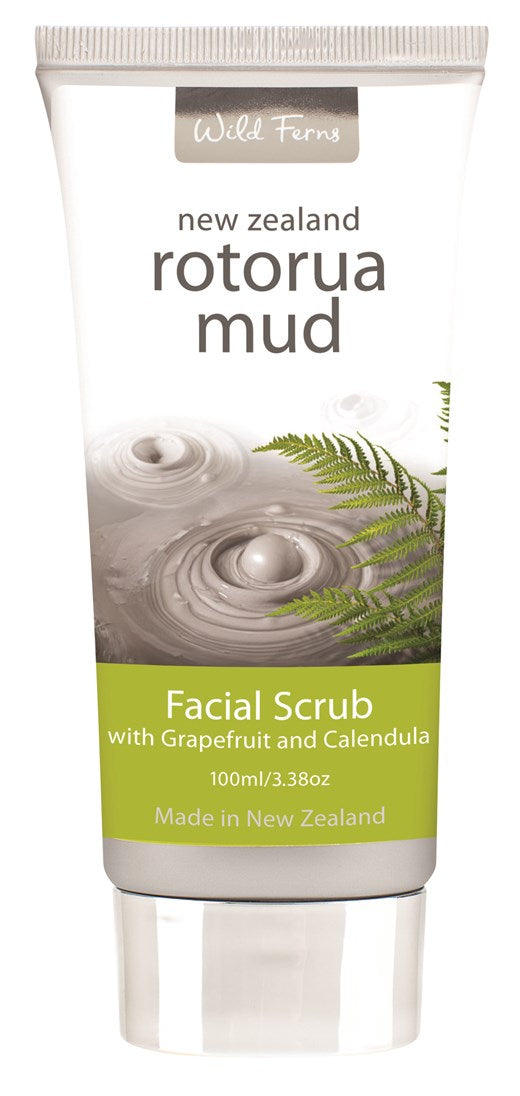 Rotorua Mud Facial Scrub with Grapefruit and Calendula