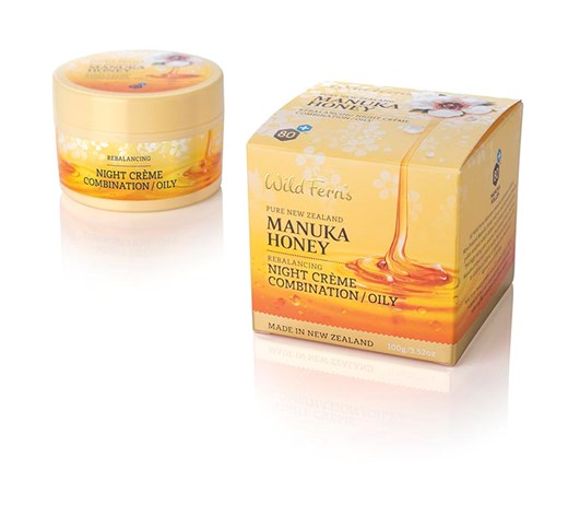 Manuka Honey Rebalancing Night Creme - Combination to Oily