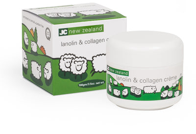 Lanolin & Collagen Creme 100gm