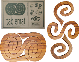 Wooden Large 3 in 1 Tablemat