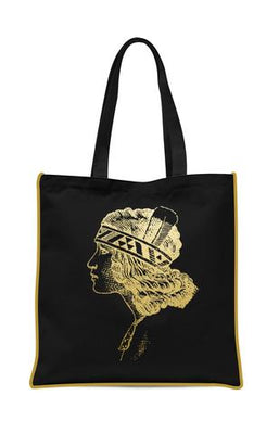 Gold Foil Tote Bags