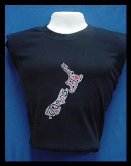 Maori Design New Zealand T Shirt