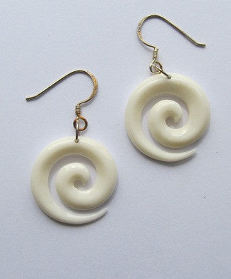 Koru Bone Earrings