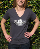 Hibiscus Yoke Tee Shirt - Womens