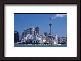 Auckland City Framed Photograph