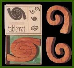 Wooden Tablemat  - 2 in 1