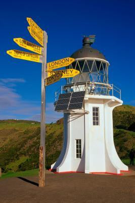 Cape Reinga  Photo Matted Print