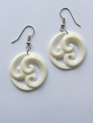 Triple Koru Pair of Earrings