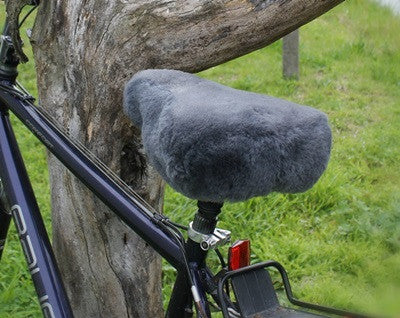 Sheepskin Wool Bike Seat cover- Tourer Bike