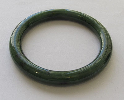 Greenstone Jade Bangle 6mm