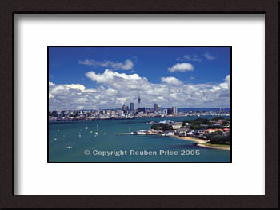 Devonport Auckland Framed Photograph