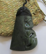 Greenstone Jade Toki with a Traditional Bound Head