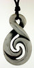 Pewter Pendant Double Figure 8