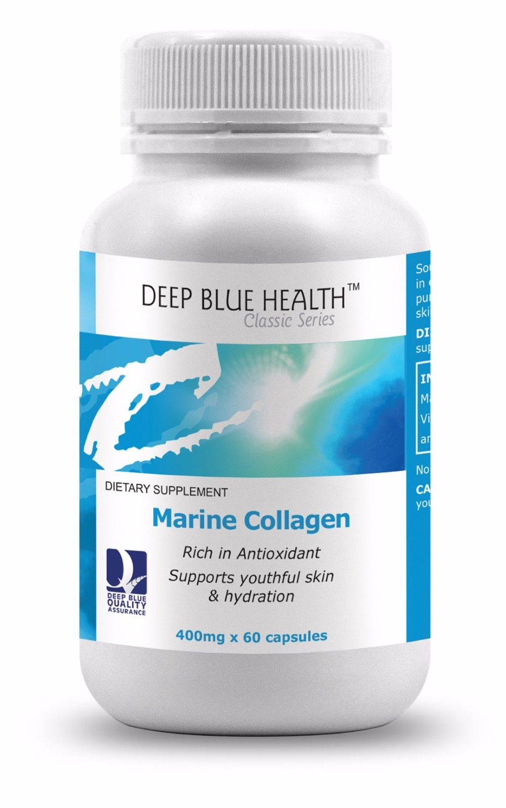 Marine Collagen 400mg x 60 soft caps