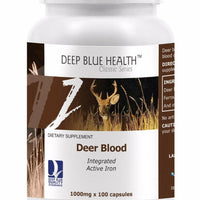 Deer Blood 100 Capsules x 1000mg