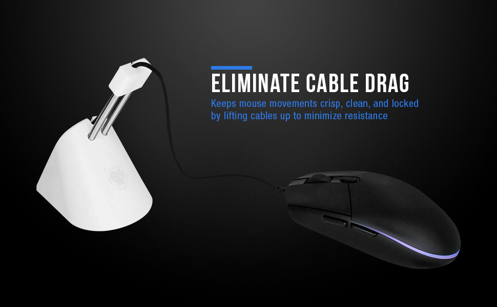 Eliminate Cable Drag