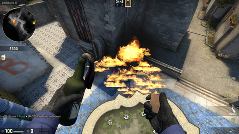 Post-Plant Molotov 6
