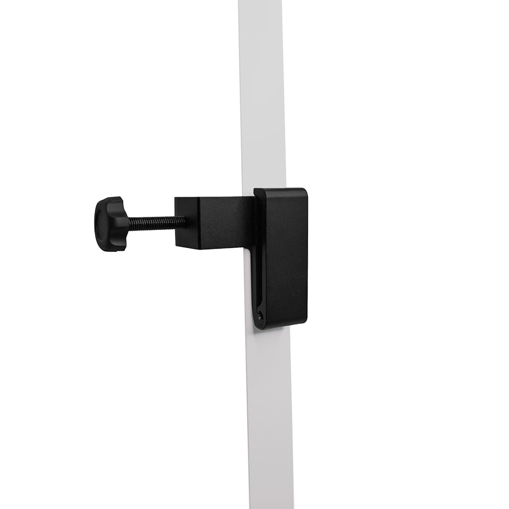 Headphone and Headset Desk Hanger, Foldable with Adjustable Clamp (Black)