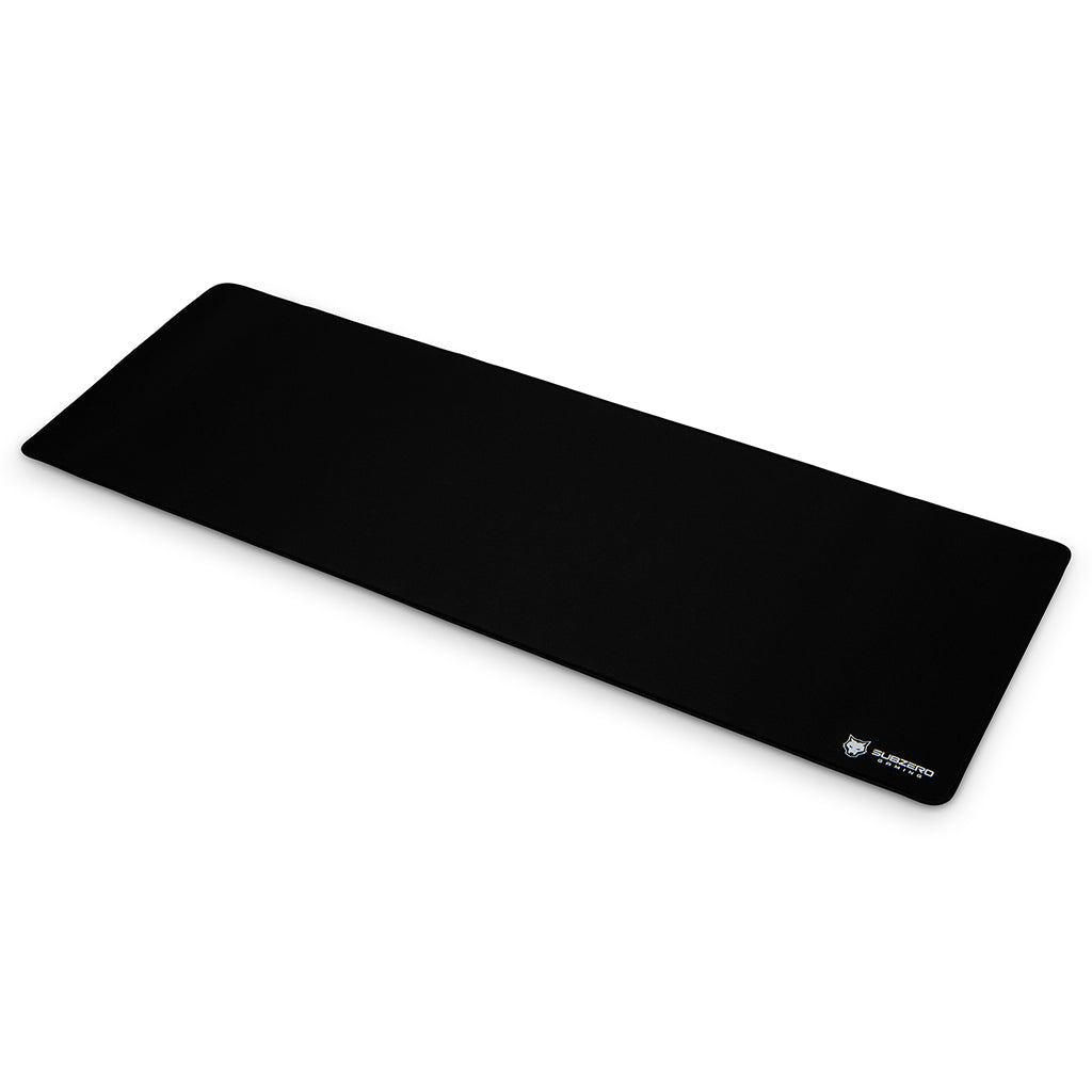 "TYKA Extended Soft Gaming Mouse Pad, Long XL, Stitched Edges, 36""x12"" (Black)"