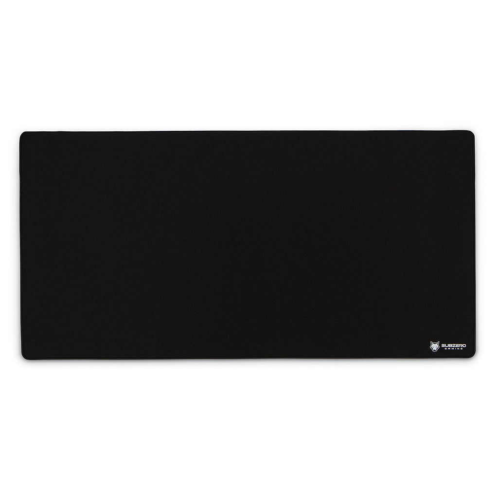 "TYKA Extended Mammoth Soft Gaming Mouse Pad, Long XXL, Stitched Edges, 36""x18"" (Black)"