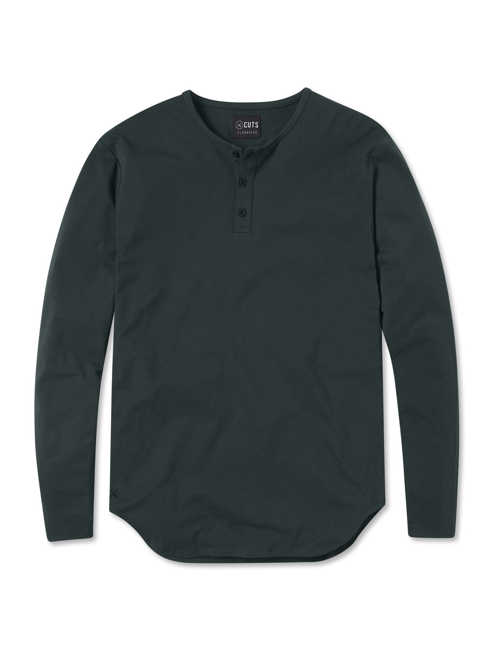 Black Forest L/S Henley Elongated