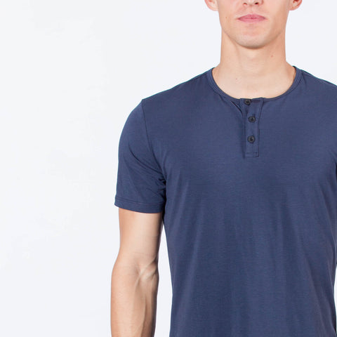 Blue Night S/S Henley Regular