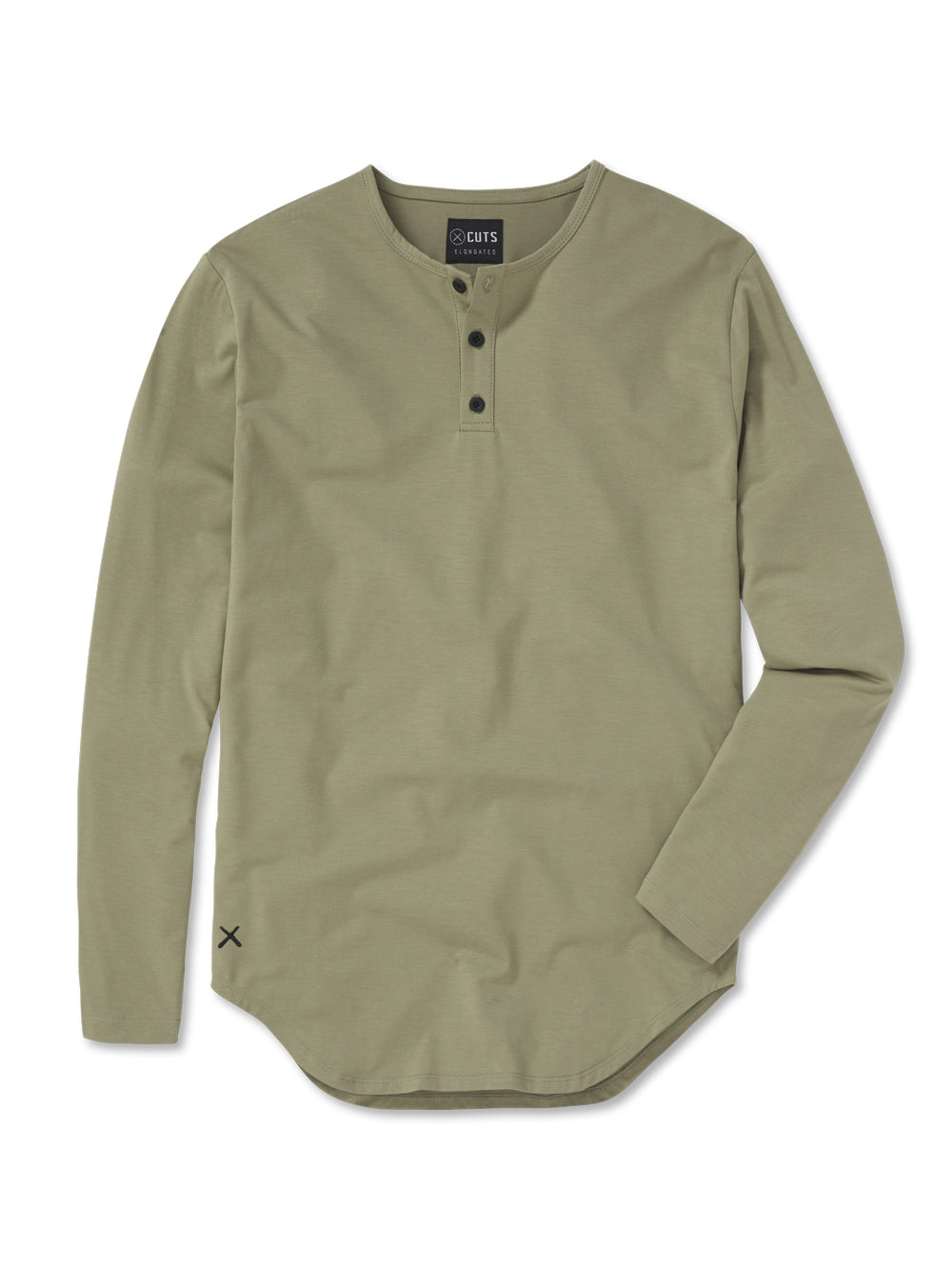 Laurel Oak LS Henley Elongated