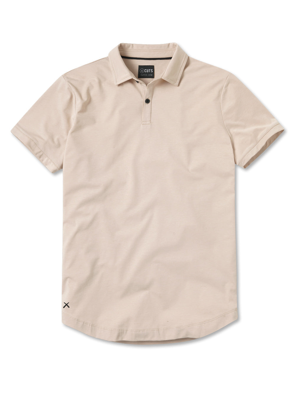 Moonlight Polo Curve-Hem