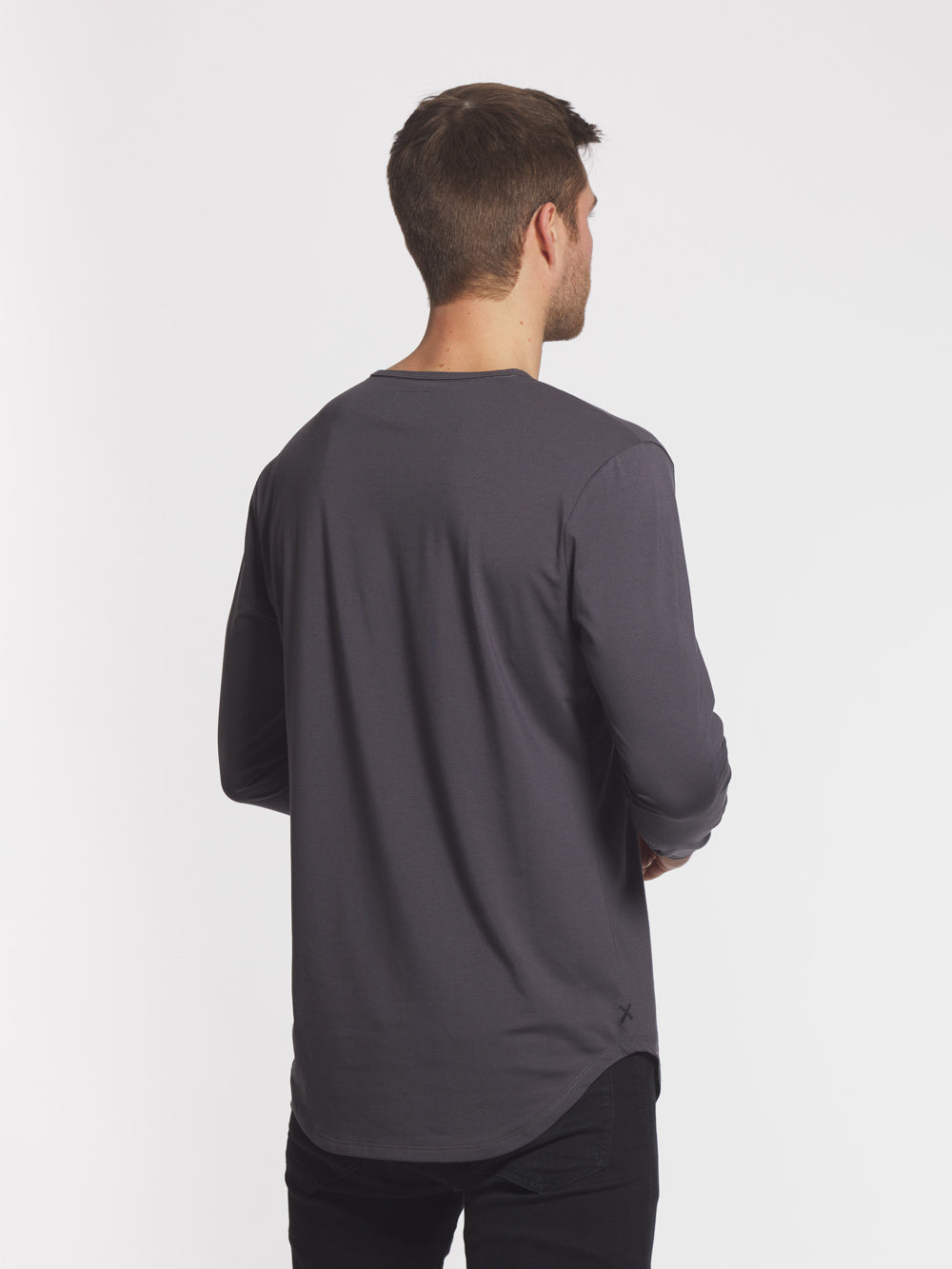 Nine Iron L/S Henley Elongated