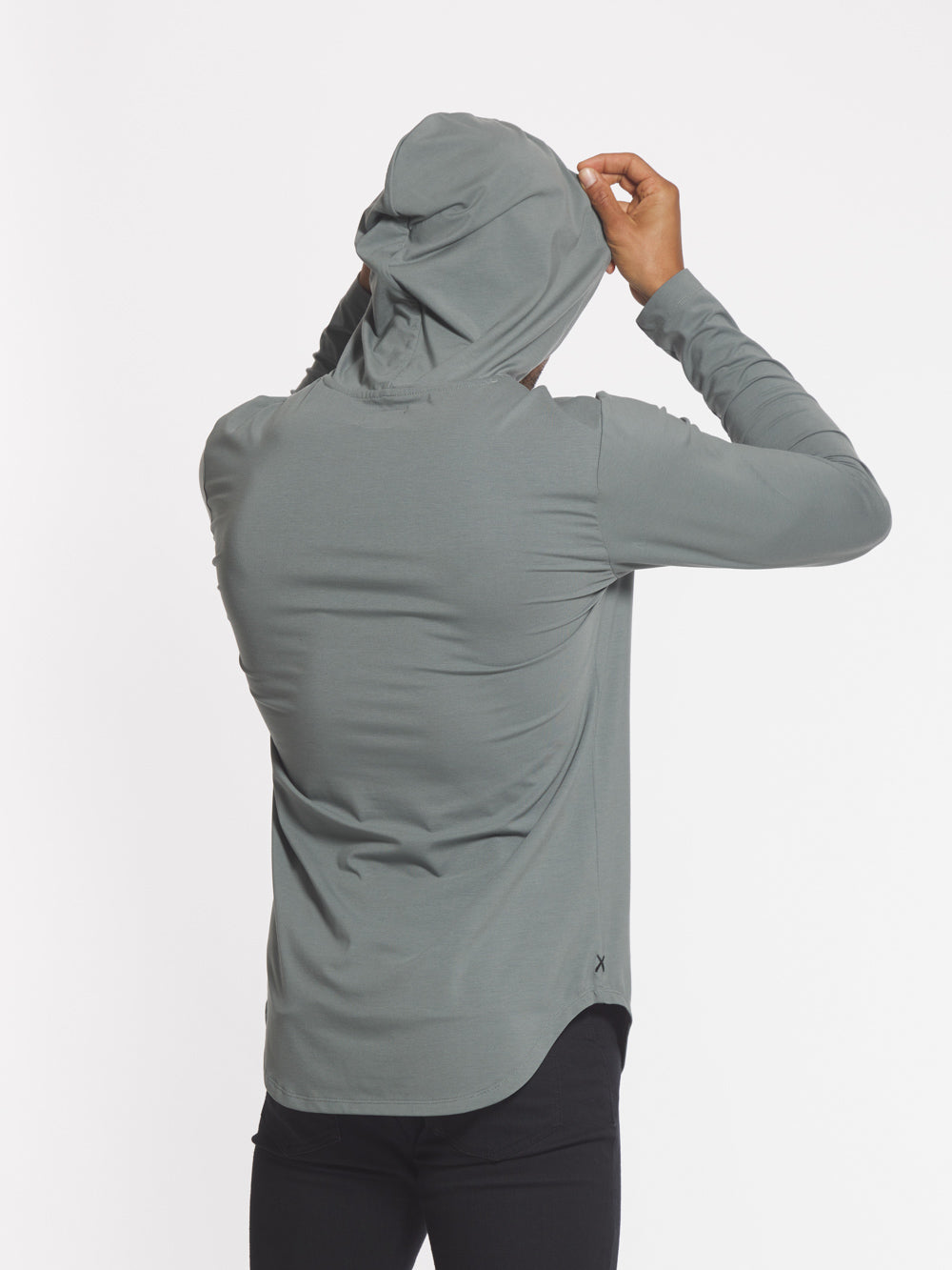 Sage L/S Hooded Elongated
