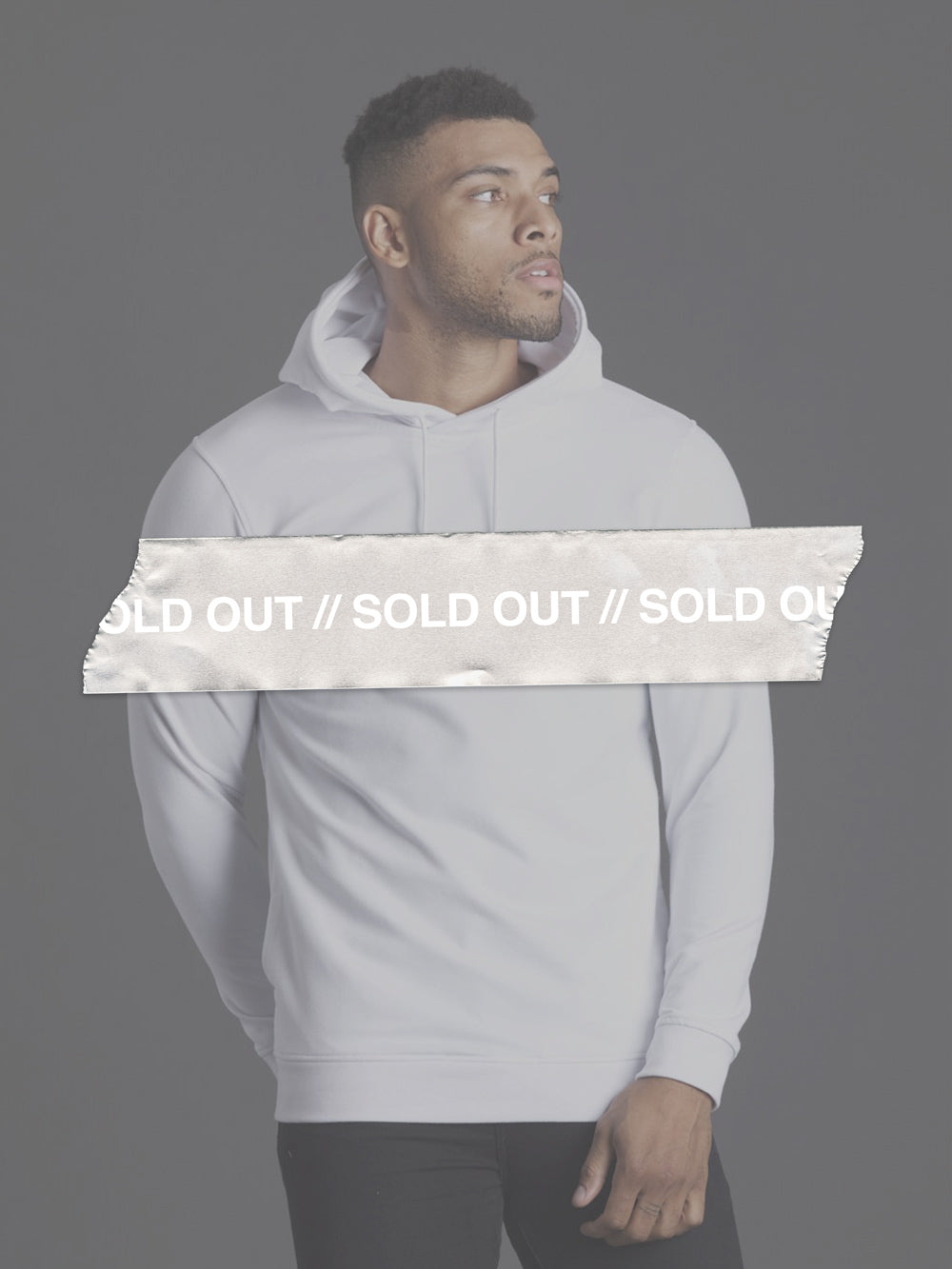 White Always On Hoodie