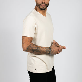 Coastal Fog V-Neck Regular