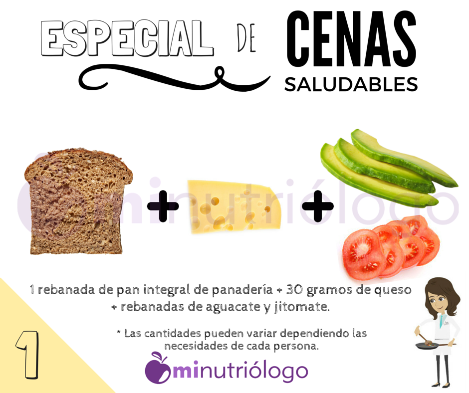 Ideas para una Cena Saludable