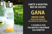 Kit de Socios - 8 Botellas Infusoras 650ml