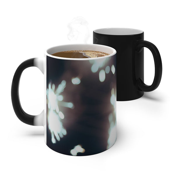 No MoRE NiGHT Sparkler - Color Changing Mug