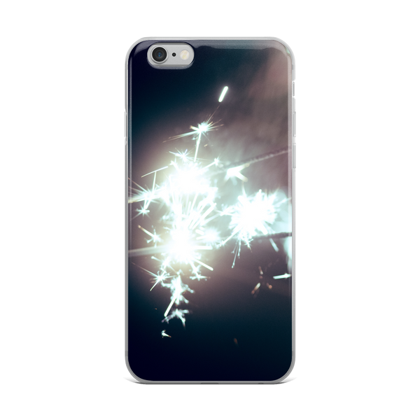 No MoRE NiGHT Sparkler - iPhone Case