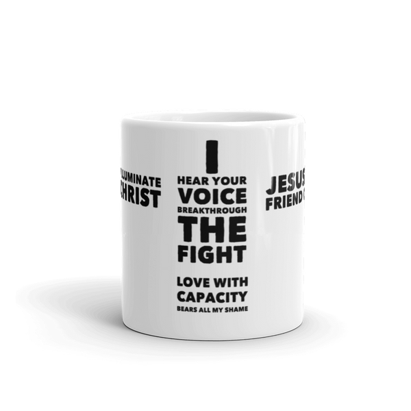Friend Of Sinners Song Lyric Collection Mug 1 (1 of 6)
