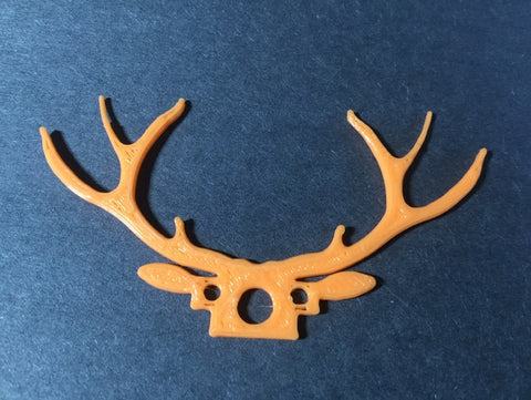 3D Printed 'Deer' Antenna protector for the FX798t Micro FPV/Tiny Whoop camera (various colors)