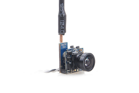Crazepony/CM275T/Boldclash F-01 VM275T 5.8G 25mW 48CH 520TVL Micro FPV Camera with Dipole Antenna for Inductrix FPV/Tiny Whoop