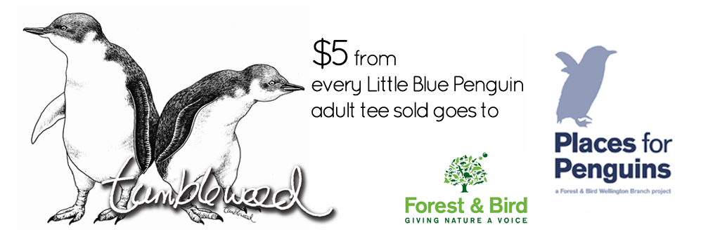 Little Blue Penguins Donation Tumbleweed Tees