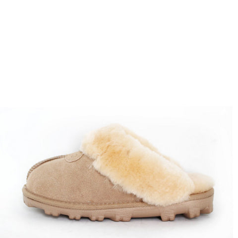 Natural Sheepskin Rug - Grey