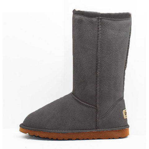 Peacock Medium Ugg Boot - Grey