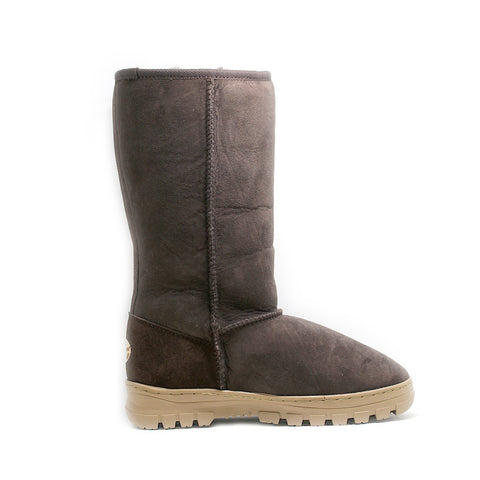 Outdoor Tall Ugg Boot - Chocolate