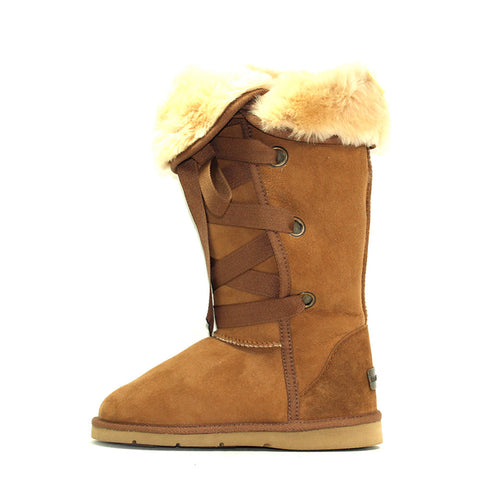 Adair Tall Ugg Boot - Chestnut