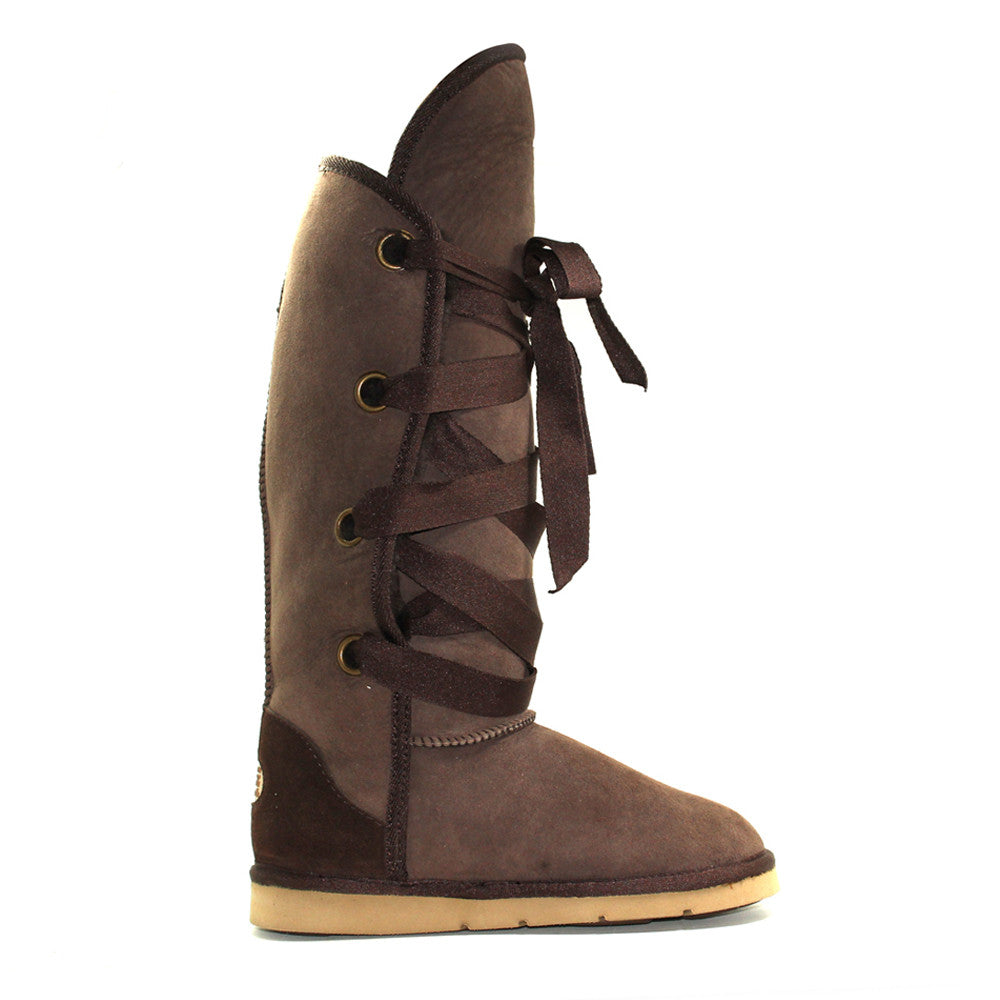Adair Tall Ugg Boot - Chocolate