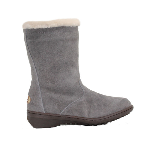 Duffle Winter Boots - Grey