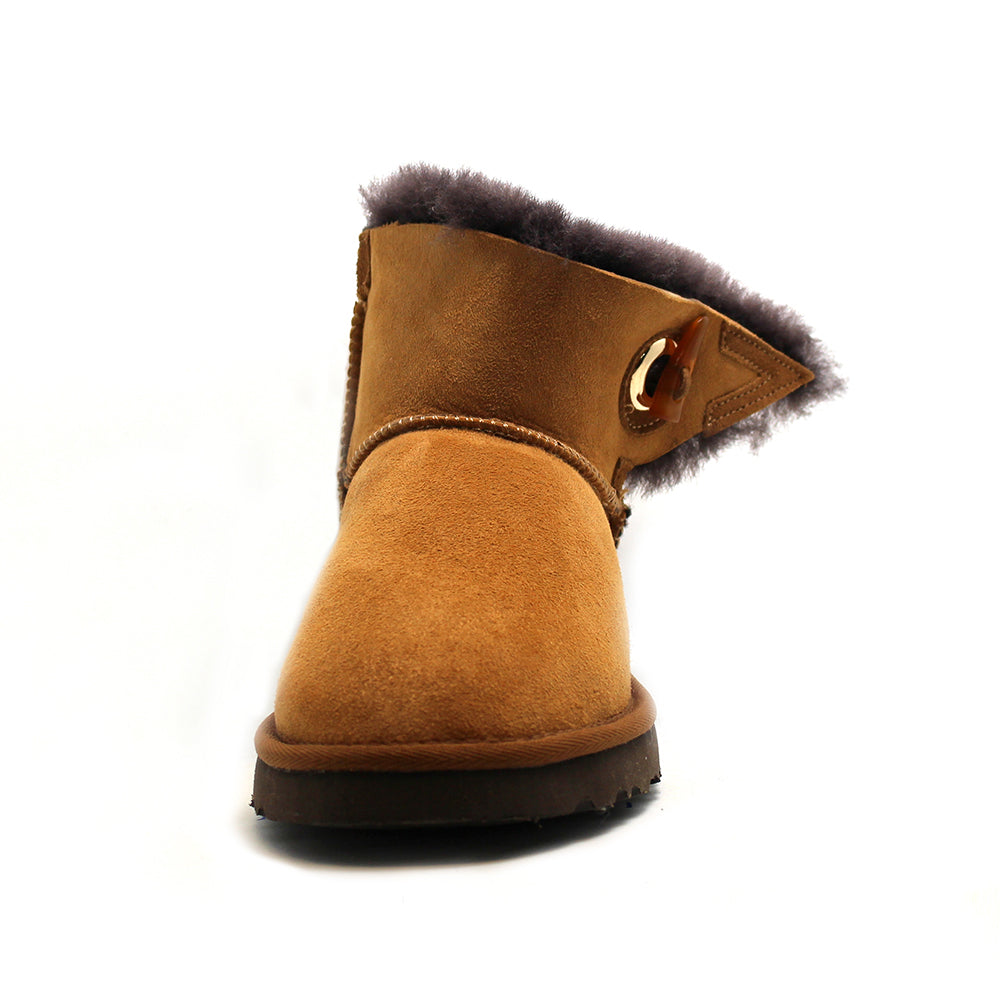 Ever Short Boots - Brown