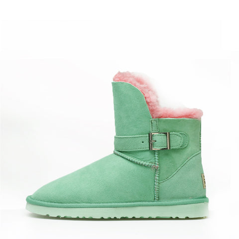 Ever Short Boots - Green