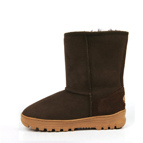 Everly Medium Ugg Boot - Chocolate