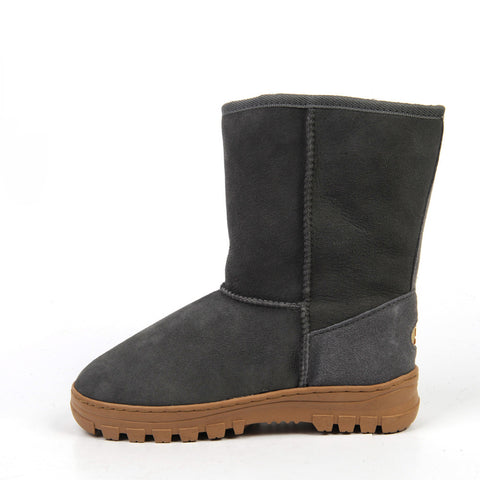 Everly Medium Ugg Boot - Grey